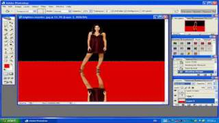 preview picture of video 'Maroc photoshop 12:Reflection with photoshop.mp4'
