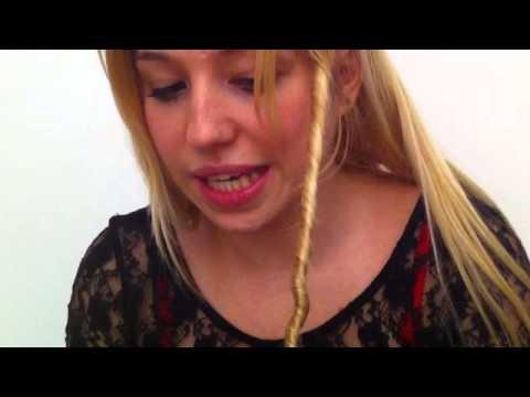 Der Abgang dem Haar mit dem Öl argana