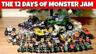 THE 12 DAYS OF MONSTER JAM Christmas Song