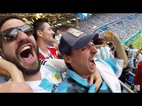Argentina 2 Nigeria 1 | Reacción en San Petesburgo | Mundial Rusia 2018 #3
