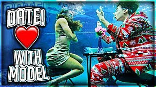 UNDERWATER DATE WITH MY CRUSH!!