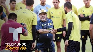Jugadores de Dorados no conocían a Maradona | Liga MX | Telemundo Deportes