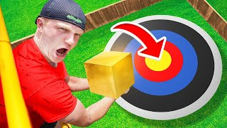 Dropping INDESTRUCTIBLE CUBE From 1,000CM!
