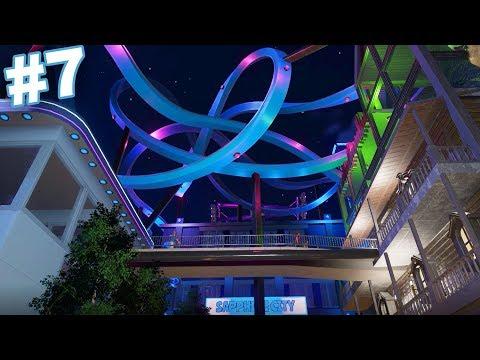 Planet Coaster - TINY PARK CHALLENGE - Part 7 (Respect the Dead)