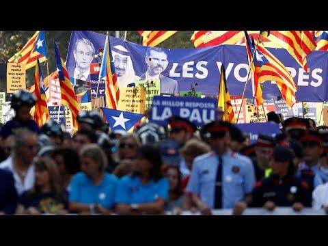 Βαρκελώνη: Μισό εκατομμύριο λαού φώναξε «δεν φοβάμαι» την τρομοκρατία