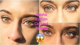 SIESTA BLACK EDITION CONTACT LENSES REVIEW 2018