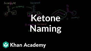 Ketone naming   Aldehydes and ketones   Organic chemistry   Khan Academy