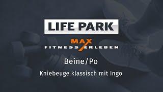 Training mit Ingo 01 – Beine/Po – Kniebeuge klassisch