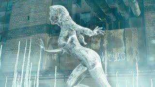 女孩拥有隐身超能力,却中了敌人的陷阱,被液氮变成了冰雕!