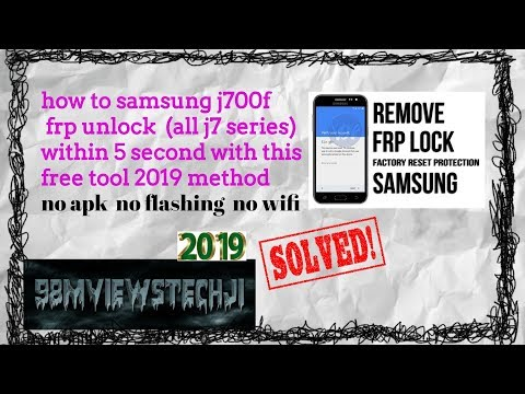 Without PC) Remove/Bypass All Samsung Android (8,7,6,5