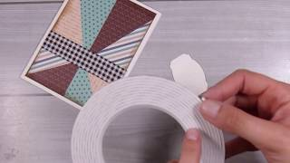 Masculine Cards- How To Make A Clean And Simple,yet Effective Masculine Card! #Aliexpress