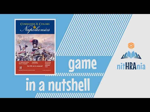 Game in a Nutshell - Commands and Colors: Napoleonics