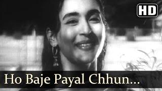 Ho Baje Payal Chun Chun- Rehman - Nutan - Chhalia - Lata
