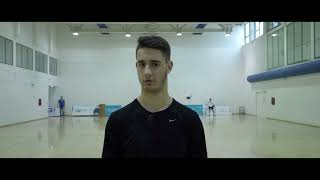 Damir Brkljaca basketball profile - promo video