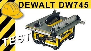 Beste 500€ Kreissäge? TEST DeWalt DW745 Tischkreissäge | Alternative Bosch GTS 10 J