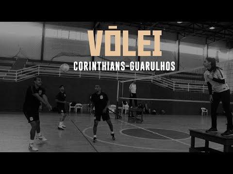 Confira o primeiro treino da equipe de vôlei Corinthians-Guarulhos