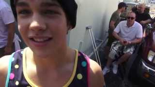 """Austin Mahone - """"What About Love"""" Behind the Scenes Official Music Video"""