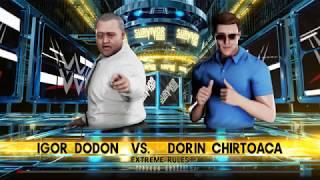 WWE 2K18 Dorin Chirtoaca VS Igor Dodon Extreme Match