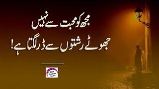 Sad Poetry Collection (Urdu Poetry) Rj Shan Ali | Urdu Quotes | Status Video | 2 Line Urdu Poetry