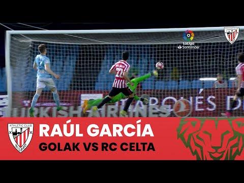 ⚽ Raúl García VS RC Celta | Goals in LaLiga