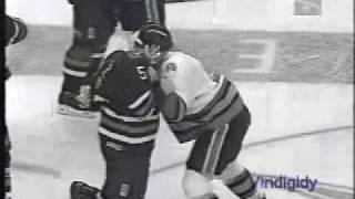 Sharks - Oilers brawl (Naz) 3/24/97