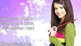 Selena Gomez - Everything Is Not What It Seems (New Version) (Lyrics Video) HD
