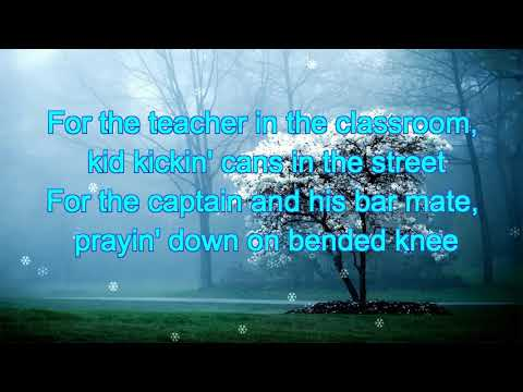 Kenny Chesney - Song For The Saints Lyrics - AP Tech