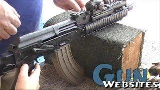 Shooting Short AK47 SBR Arsenal SLR107CR