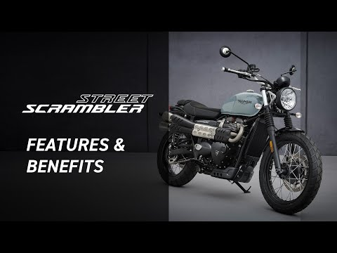 2022 Triumph Street Scrambler in San Jose, California - Video 1