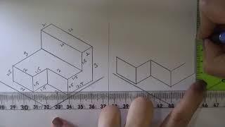 Teknik Resim 30. Konu- Perspektif (İzometrik) Çizimi