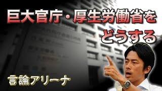 言論アリーナ巨大官庁・厚生労働省をどうする:小泉進次郎レポートをめぐって