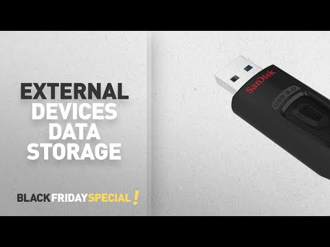 Black Friday External Devices Data Storage Deals: SanDisk Ultra 32 GB USB Flash Drive USB 3.0 up to