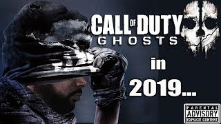 Playing Call of Duty GHOSTS in 2019 😈 Modern Warfare Drops in 129 Days...