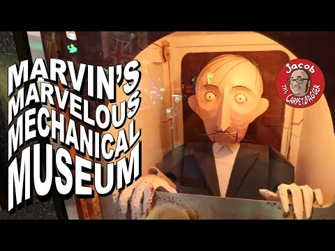Download Worlds Most Wonderful and Bizarre Animatronics - Return to Marvin's Mp4 HD Video and MP3
