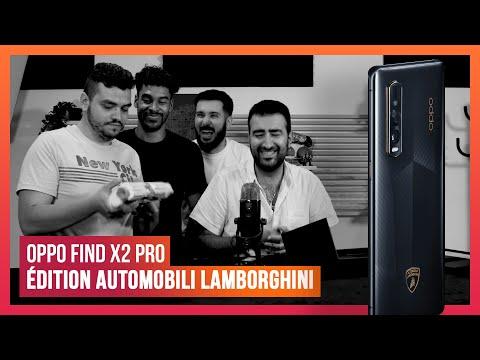 J'ai reçu l'OPPO Find X2 Pro Édition Automobili Lamborghini