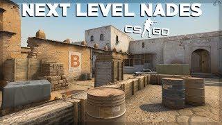 Next Level Nades On Dust 2 - CS:GO Tutorial