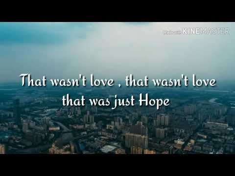 The Chainsmokers - HOPE ( Feat -- Winona Oak )  [ Lyrics ]
