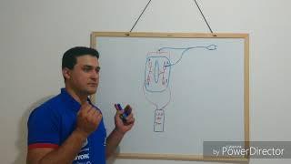 Diagrama elétrico de como destravar motor de geladeira