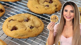 the recipe for homemade chocolate chip cookies