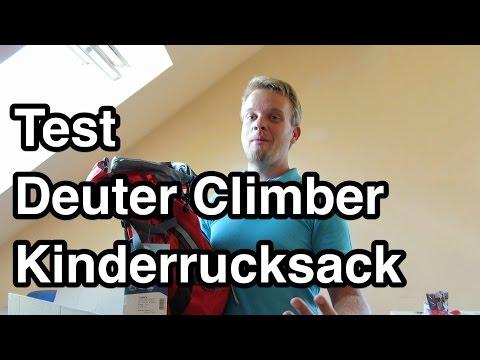 Test Deuter Climber Rucksack Kinderrucksack | Wanderrucksack Kinder Test | Kinder Rucksack