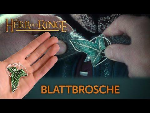 Der Herr der Ringe: Die Elbische Blattbrosche