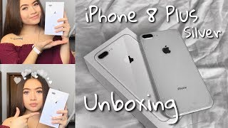 Silver iPhone 8 Plus Unboxing