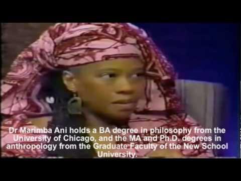 Dr Marimba Ani & the Rebirth.. must view