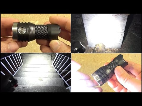 MecArmy PT16 Flashlight Review, Ultimate Pocket Rocket 1,000 Lumens