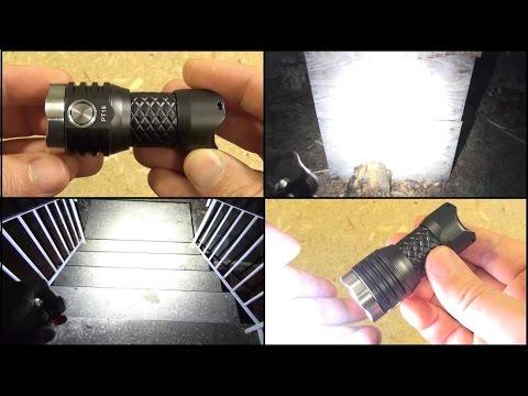 MecArmy PT16 Flashlight Review, Ultimate Pocket Rocket 1,000 Lumens