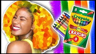 DIY: HAIR GEL Made From CRAYONS [Temporary Hair Color]
