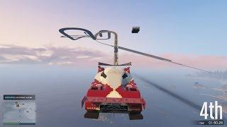 GTA 5 - Đua Xe Ôtô Trên Mây, Cày Tiền Để Dành Cua Gái ^^