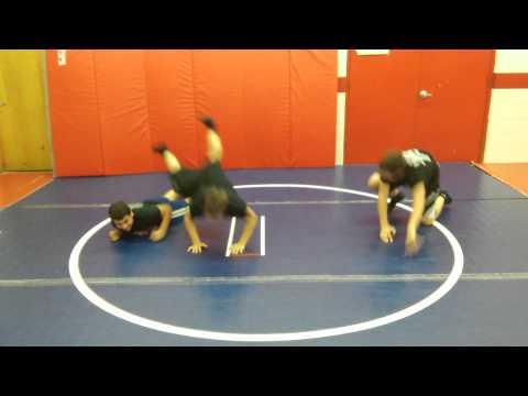 Hebron Wrestling: Monkey Rolls