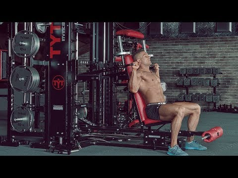 TYTAX® T1-X (Opt. JD) | Lever Seated Shoulder Press