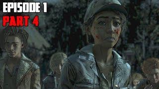 The Walking Dead The Final Season (Season 4) Episode 1   Part 4 - Crazy Ending!